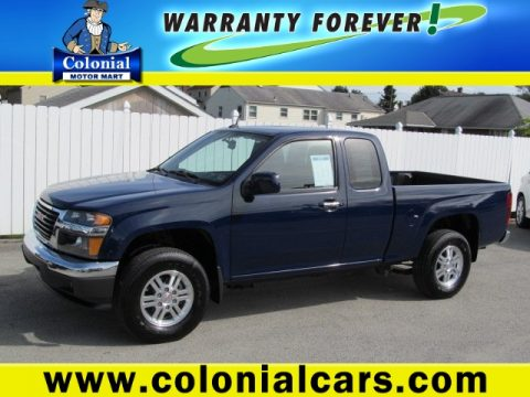 Used 2012 gmc canyon sle extended cab 4x4 for sale stock for Colonial motors indiana pa