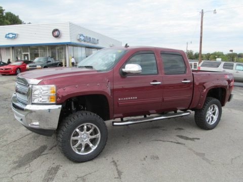 Chevrolet Silverado 1500 LT Crew Cab 4x4