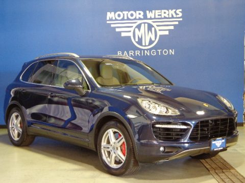 Used 2012 porsche cayenne turbo for sale stock 000p5297 for Motor werks barrington used cars