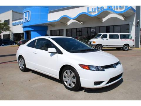 Used 2007 honda civic lx coupe for sale stock p7h569428 for Lute riley honda 1331 n central expy richardson tx 75080