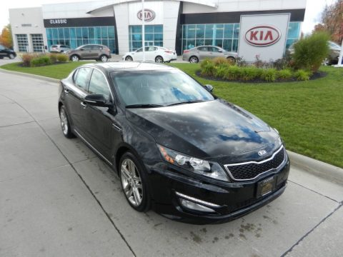 Kia Optima 2013 Black New 2013 Kia Optima SX Limited for Sale - Stock #Y12855 | DealerRevs ...