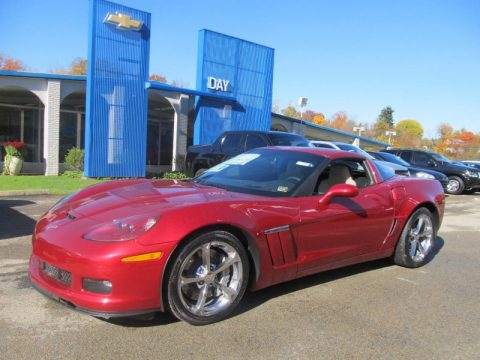 Crystal Red Tintcoat Chevrolet Corvette Grand Sport Coupe.  Click to enlarge.