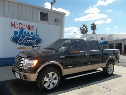 New 2013 Ford F150 Lariat Supercrew 4x4 For Sale Stock