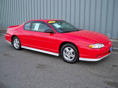 used 2001 chevrolet monte carlo ss for sale stock. Black Bedroom Furniture Sets. Home Design Ideas