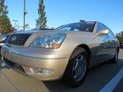 Mystic Gold Metallic Lexus LS 430.  Click to enlarge.