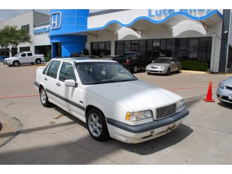 Used 1997 volvo 850 glt turbo sedan for sale stock for Lute riley honda 1331 n central expy richardson tx 75080