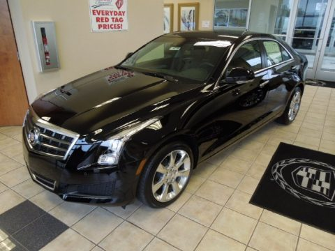 Black Raven Cadillac ATS 2.0L Turbo Luxury.  Click to enlarge.