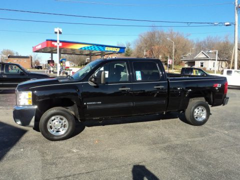 Used 2009 chevrolet silverado 2500hd lt crew cab 4x4 for for Bureau of motor vehicles bloomington indiana