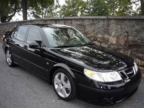 used 2005 saab 9 5 aero sedan for sale stock 13861. Black Bedroom Furniture Sets. Home Design Ideas
