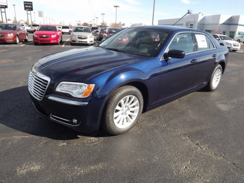 Jazz Blue Pearl Chrysler 300 .  Click to enlarge.