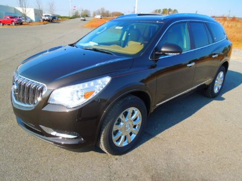 Mocha Bronze Metallic Buick Enclave Premium.  Click to enlarge.