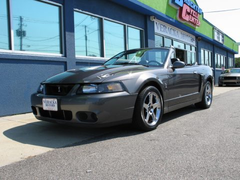 Used 2003 Ford Mustang Cobra Convertible For Sale Stock
