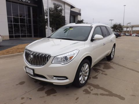 White Diamond Tricoat Buick Enclave Premium.  Click to enlarge.