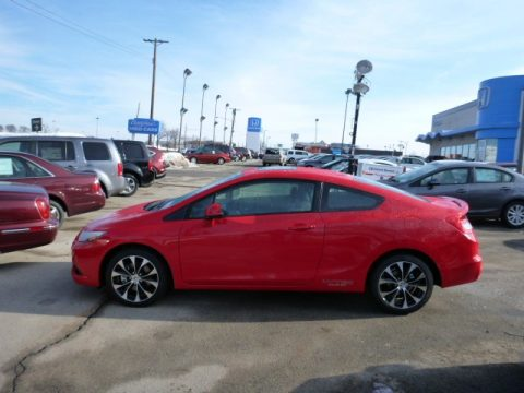 new 2013 honda civic si coupe for sale stock 13279 dealer car ad 75612390. Black Bedroom Furniture Sets. Home Design Ideas