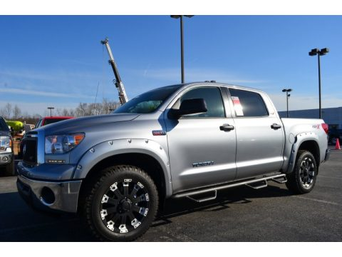 Silver Sky Metallic Toyota Tundra XSP-X CrewMax 4x4.  Click to enlarge.