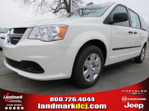 Stone White Dodge Grand Caravan American Value Package.  Click to enlarge.