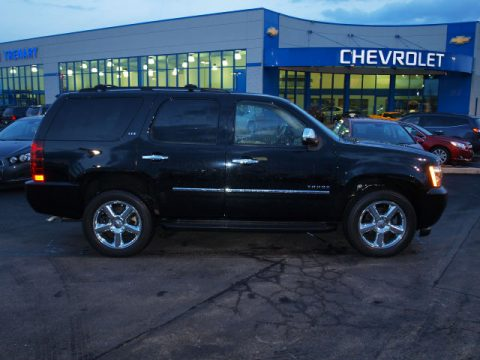 Black Chevrolet Tahoe LTZ 4x4.  Click to enlarge.