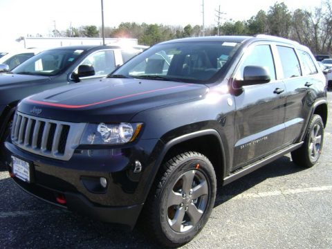 new 2013 jeep grand cherokee trailhawk 4x4 for sale stock 1442m dealer car. Black Bedroom Furniture Sets. Home Design Ideas