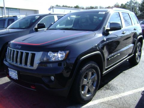 new 2013 jeep grand cherokee trailhawk 4x4 for sale stock 1441m dealer car. Black Bedroom Furniture Sets. Home Design Ideas