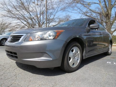 Polished Metal Metallic Honda Accord LX Sedan.  Click to enlarge.
