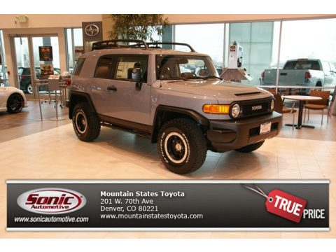 Peoria Acura on Trail Teams Cement Gray Toyota Fj Cruiser Trail Teams Special Edition