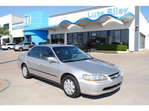 Used 1998 honda accord lx sedan for sale stock for Lute riley honda 1331 n central expy richardson tx 75080