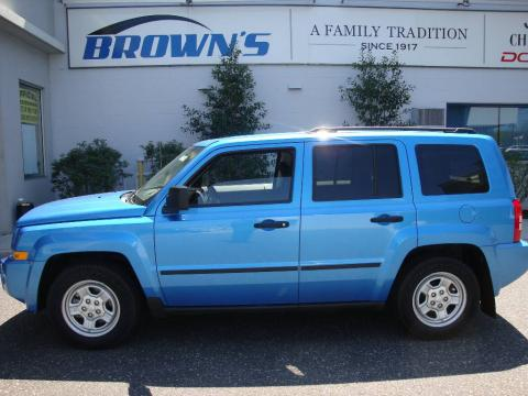 2008 Jeep Patriot Interior. Surf Blue Pearl 2008 Jeep