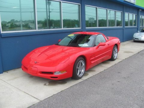 Used 1998 Chevrolet Corvette Coupe For Sale Stock 1241