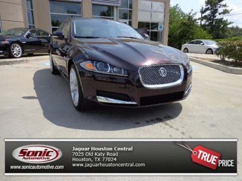 Caviar Metallic Jaguar XF 3.0 AWD.  Click to enlarge.