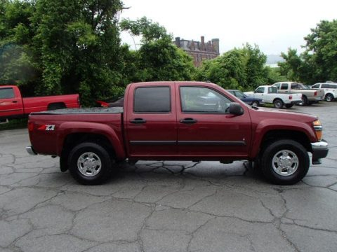 used 2008 chevrolet colorado lt z71 crew cab 4x4 for sale stock t3337a. Black Bedroom Furniture Sets. Home Design Ideas