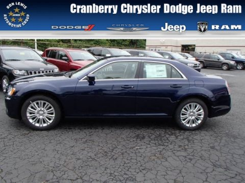 Jazz Blue Pearl Chrysler 300 AWD.  Click to enlarge.