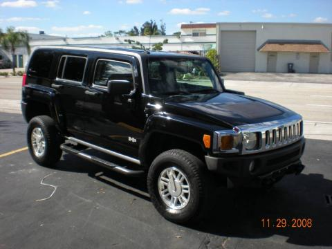Sweet Car Hummer H3 Black On Black