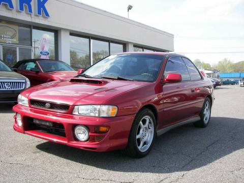 used 2000 subaru impreza 2 5 rs coupe for sale stock 6700b dealer car ad. Black Bedroom Furniture Sets. Home Design Ideas