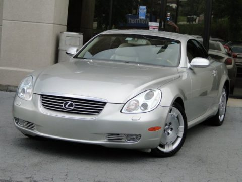 Millenium Silver Metallic Lexus SC 430.  Click to enlarge.