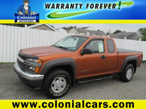 Used 2005 Chevrolet Colorado Z71 Extended Cab 4x4 For Sale