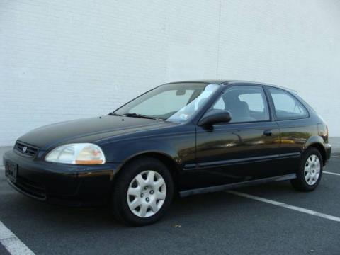 used 1998 honda civic dx hatchback for sale stock mwu2146n dealer car ad. Black Bedroom Furniture Sets. Home Design Ideas