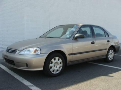 Used 2000 Honda Civic Lx Sedan For Sale Stock Mw90531n