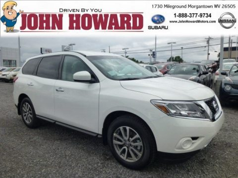 New 2014 nissan pathfinder s awd for sale stock 6605748 for Mileground motors in morgantown wv
