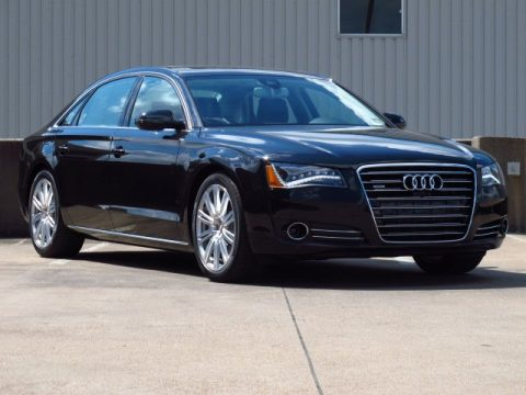 new 2014 audi a8 l 4 0t quattro for sale stock en003955 dealer car ad. Black Bedroom Furniture Sets. Home Design Ideas