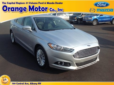 Used 2013 ford fusion hybrid se for sale stock 1295m for Orange motors albany new york