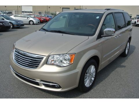 Cashmere Pearl Chrysler Town & Country Limited.  Click to enlarge.