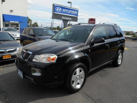 Black Onyx Saturn VUE V6 AWD.  Click to enlarge.