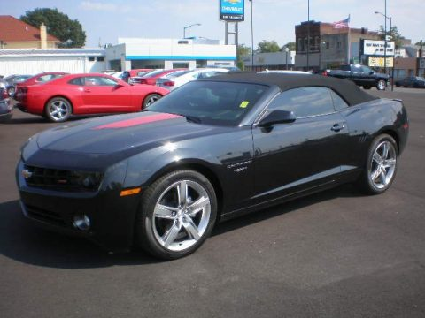 used 2012 chevrolet camaro lt 45th anniversary edition convertible for sale stock 13413b. Black Bedroom Furniture Sets. Home Design Ideas