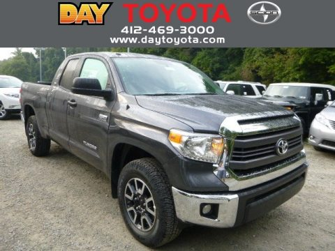 Magnetic Gray Metallic Toyota Tundra SR5 TRD Double Cab 4x4.  Click to enlarge.
