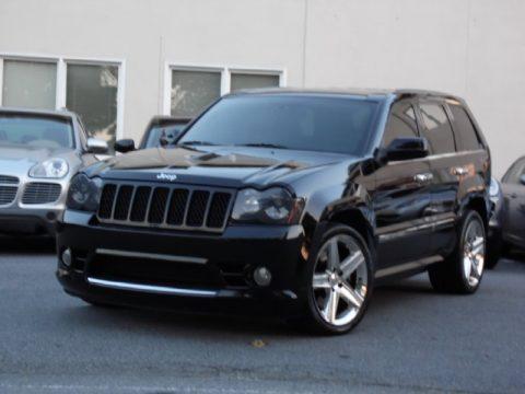 used 2008 jeep grand cherokee srt8 4x4 for sale stock 10364 dealer car ad. Black Bedroom Furniture Sets. Home Design Ideas