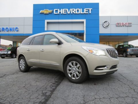 Champagne Silver Metallic Buick Enclave Premium.  Click to enlarge.