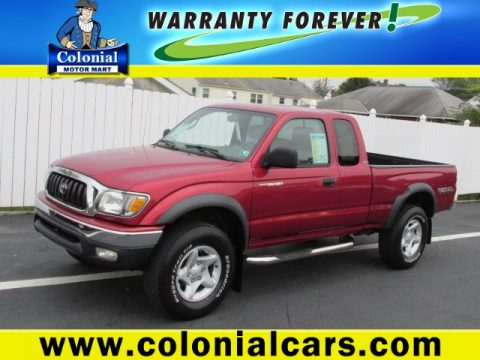 Used 2004 Toyota Tacoma V6 Xtracab 4x4 For Sale Stock