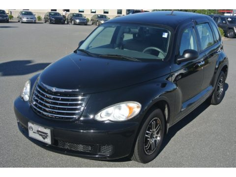 Brilliant Black Crystal Pearl Chrysler PT Cruiser .  Click to enlarge.