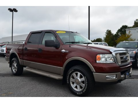 used 2005 ford f150 king ranch supercrew 4x4 for sale stock f13480a1. Black Bedroom Furniture Sets. Home Design Ideas