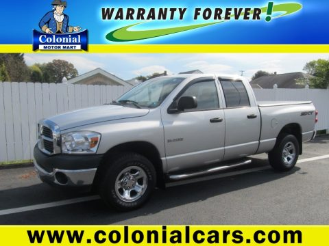 Used 2008 dodge ram 1500 sxt quad cab 4x4 for sale stock for Colonial motors indiana pa